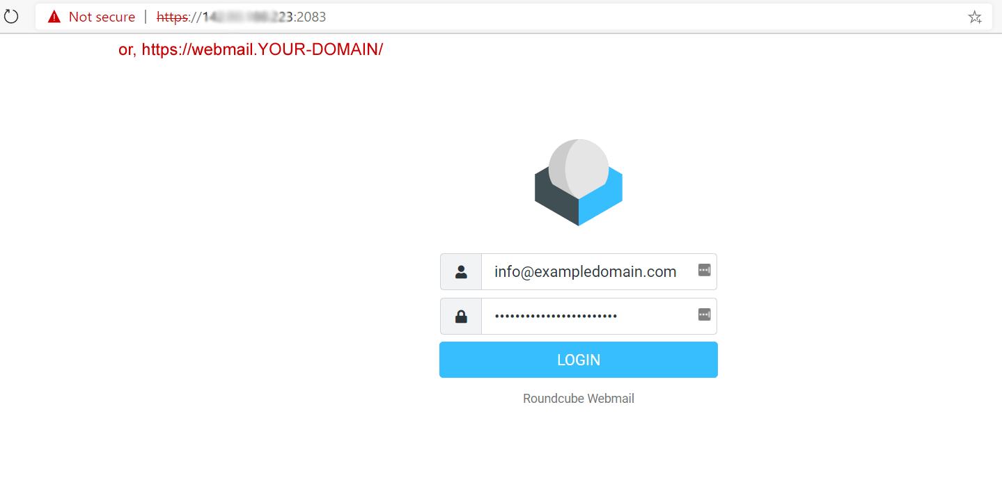 Access ZesleCP webmail