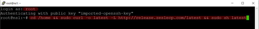 ZesleCP Installation Start